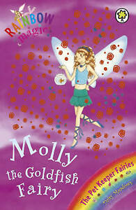 Molly-the-Goldfish-Fairy-Rainbow-Magic-by-Daisy-Meadows-Good-Used-Book-Paper