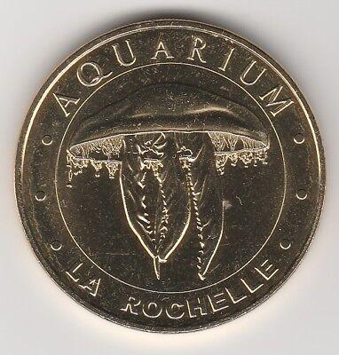 Methodisch -- 2018 Coin Token Jeton Monnaie De Paris -- 17 000 Aquarium La Rochelle Meduse Voorzichtige Berekening En Strikte Budgettering