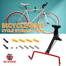 WALL MOUNTED BIKE BICYCLE CYCLE STORAGE RACK HOOK HOLDER STAND GARAGE W SCREWS