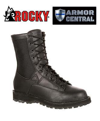 9df87b2be27 NEW Rocky Men's Black Tactical Portland Lace-to-Toe Waterproof Duty Boots -  2080 | eBay