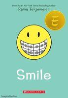 Smile By Raina Telgemeier (new Paperback)