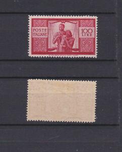 ITALY-1945-Democratica-100L-Mint-Sc-477-Sa-565