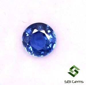 Certified-Natural-Blue-Sapphire-Round-Cut-4-mm-0-34-CTS-Ceylon-Loose-Gemstone