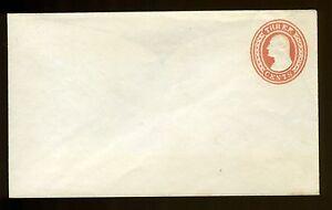 Antique Vtg 1854 Us Stamped Envelope U9 3c 3 Cent Postage Stamp Unused Entire Ebay