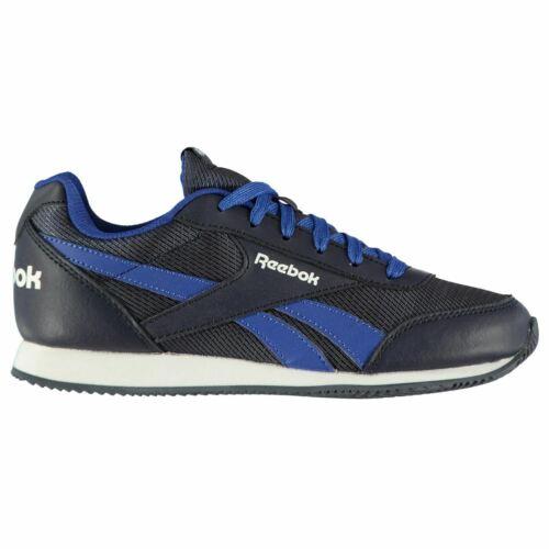 Reebok Classic Jogger RS Trainers Juniors Boys Shoes Sneakers Kids Footwear