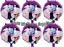 Pc Vampirina Happy Birthday Balloons Party Birthday Supplies 6