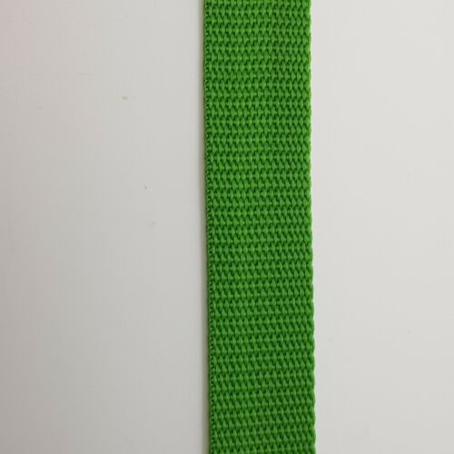 5M x 25mm 1in Polypropylene Wave Webbing Strap Various Colours