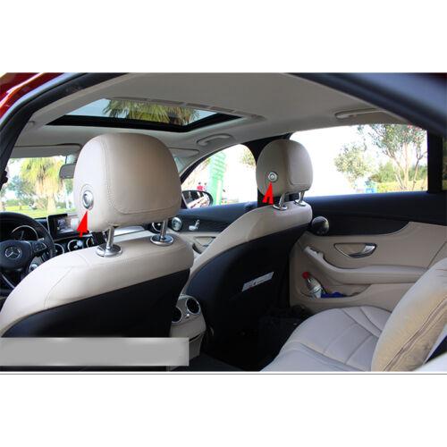 Seat Headrest Adjust Button Cover Trim For Mercedes Benz C GLC Class W205 15-17