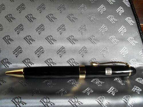 Classic Rolls Royce logo quality ballpen - RR silver shadow, ghost, phantom, RR
