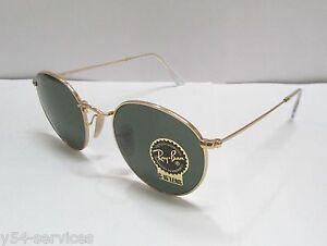5719c53fcd Ray-Ban Sunglasses 3447 001 50 GOLD   GREEN CLASSIC G-15 ...