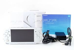 Sony-PSP-3000-Launch-Edition-Pearl-White-Console-w-Box-and-Charger-Excellent