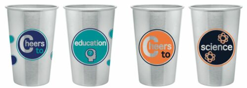 New Cheers To Stainless Steel Tumbler 16 oz, pint