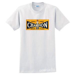 Vintage Champion Spark Plugs Racing Unisex Men's T-Shirt