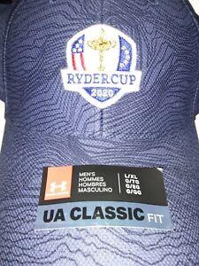 escribir Profecía Fascinar  Under Armour Gorro Patrón de tigre de la Ryder Cup 2020 Azul Marino Nueva  con etiqueta | eBay