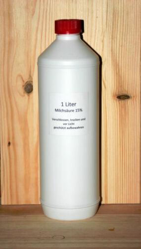 vet Varroa Bienen Varroabehandlung 1 Liter Milchsäure 15/% ad us