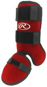 RAWLINGS-2018-BASEBALL-HITTERS-LEG-GUARD-MODEL-GUARDLEG-RED