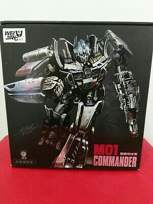 Aspirante Wei Jiang Transformers Masterpiece M01 Commander (optimus Prime)
