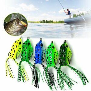 5Pcs-Fishing-Lures-Large-Frog-Topwater-Crankbait-Hooks-Bass-Bait-Tackle-New