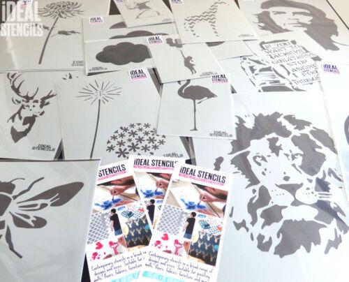 Medusa Head Stencil Home Decorating for Walls Fabrics Furniture Reusable Art