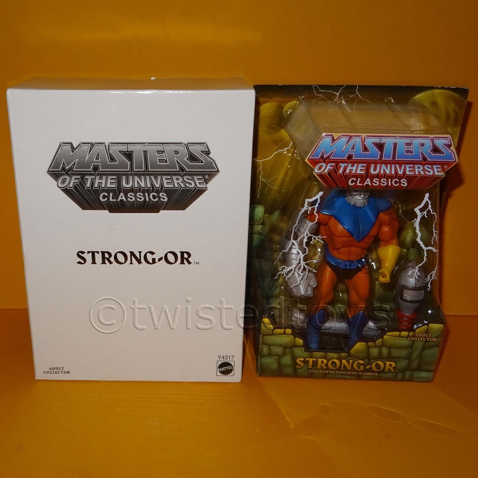 2013 MATTEL MOTU HE-MAN MASTERS OF THE UNIVERSE CLASSICS STRONG-OR MOC CARDED