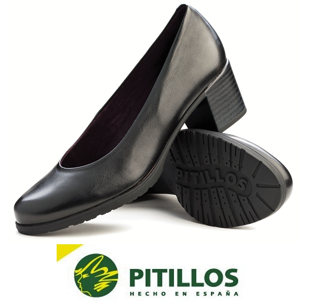 Pitillos chaussures Spain Comfort heel Leather court chaussures - 1240