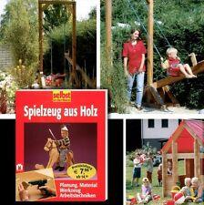 DO IT YOURSELF Schaukelpferd Schaukel Wippe Spielhaus uvm. aus Holz selber bauen