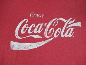 Coca-Cola-Godere-Coca-cola-XL-Rosso-T-Shirt-C552