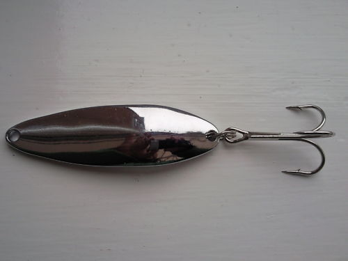 1oz DISTANCE // CASTING CHROME SPOON LURE 3oz 2oz VARIOUS WEIGHTS