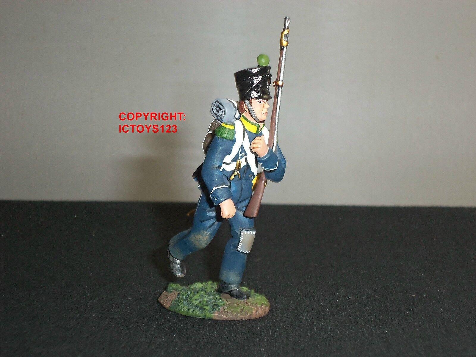 Britains 17966 francesi FANTERIA LEGGERA Volteggiatori MARZO attacco in metallo giocattolo Soldato