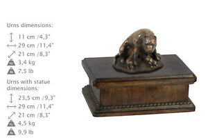 Amstaff, dog exclusive urn made of cold cast bronze, ArtDog, CA - Zary, Polska - Amstaff, dog exclusive urn made of cold cast bronze, ArtDog, CA - Zary, Polska