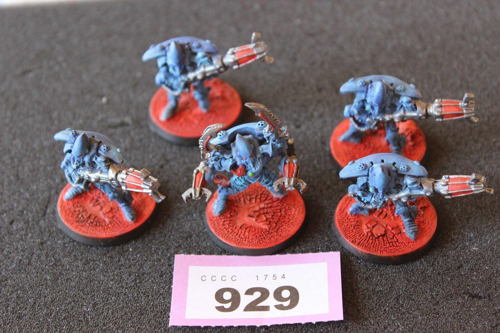 Games Workshop Warhammer 40K Eldar Warp Spiders Squad Finecast 32mm Bases WH40K