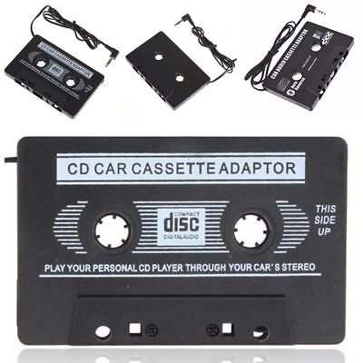 3.5mm AUX Car Audio Cassette Tape Adapter Transmitters for MP3 IPod CD MD 2017 L