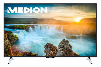 "MEDION LIFE X18083 UHD 4K Smart LED Backlight TV 163,8cm/65"" DVB-T2 PVR WLAN A+"