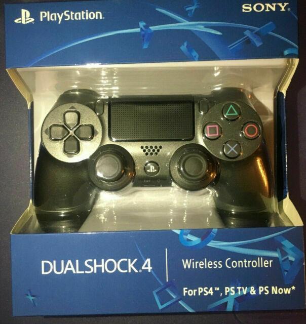 reproduction US seller Jet Black Dualshock PS4 Blue Red Controller playstation 4
