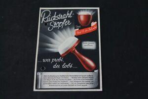 Age-Print-Advertising-Reichswerbung-Ruckstrahlstopfer-Tamper-Stopfei