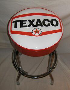 Texaco-Small-Star-Gas-Sign-Bar-Stool-Stools
