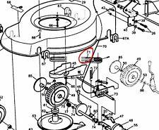 Hayter m10//30 heritage mid engine manual transition 37X110 drive belt Webb 12530