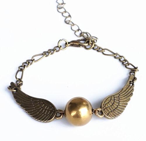 B-57 Handcraft Cool Bracelet,Golden Ball Snitch Fans Gifts