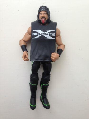 Rare WWE X-PAC MATTEL ELITE SERIES 33 Wrestling figure DX attire