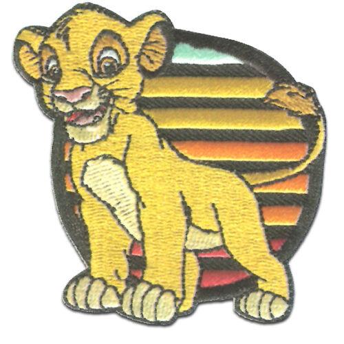 Aufnäher Disney © Der König der Löwen Simba Bügelbild