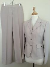 Womens Calvin Klein Pant Pants Suit Size 4 Career Business Long Sleeve