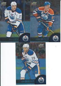 2017-18-Upper-Deck-Tim-Hortons-Team-Set-Edmonton-Oilers-MCDAVID-DRAISAITL-LUCIC