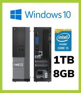 A-Buon-Mercato-Veloce-Dell-OptiPlex-3020-SFF-PC-COMPUTER-QUAD-i5-4590-3-30GHz-Windows-10