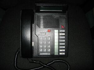 Northern-Telecom-Meridian-Business-Phone-Set-NT9K08AC03-Charcoal-USED-Qty-1