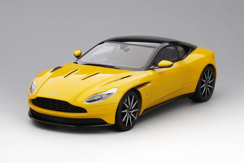 Haut Vitesse Aston Martin DB11 Sunburst jaune 1 18
