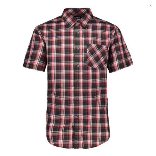 Cmp Homme Chemise Homme Shirt Haut Outdoorhemd funktionshemd Men Carreaux