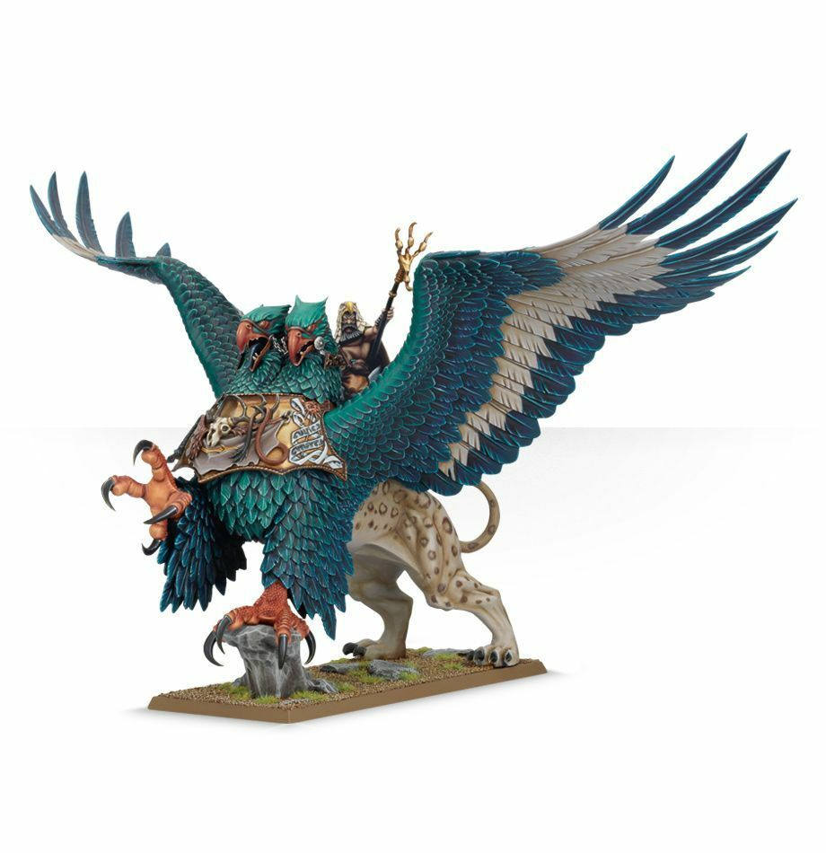 Warhammer Age of Sigmar Battlemage on Griffon plastic box new