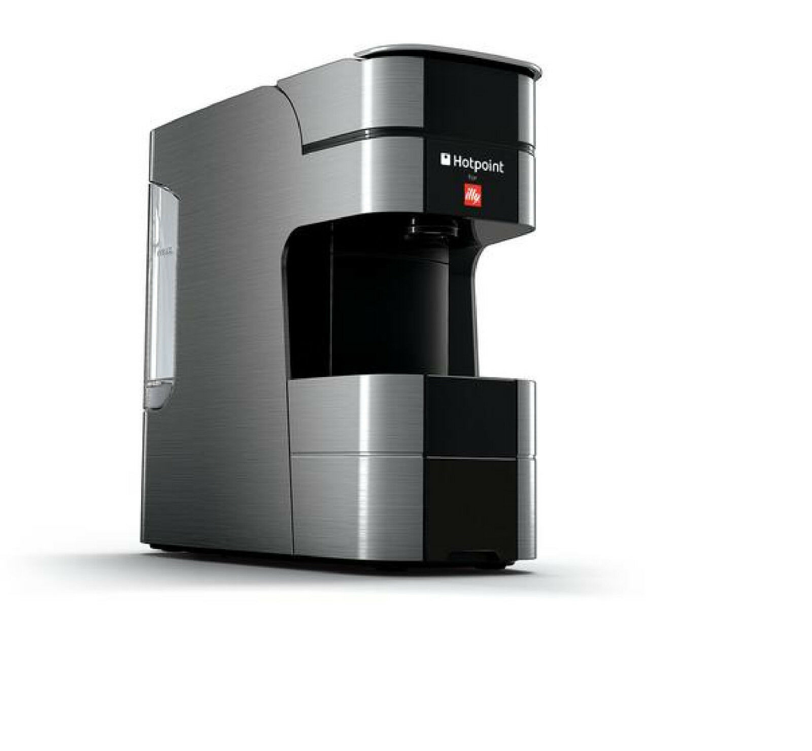 Hotpoint For Illy Cmhpcgx0 Compact Espresso Machine 240w Silver