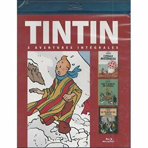 Tintin -L'étoile mystérieuse/Les 7 boules de cristal/Le temple du soleil-Blu-ray