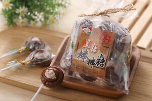 Taiwan specialty for kids Brown Sugar Plum Lollipop Candy 台灣黑糖梅子棒棒糖 5 pieces